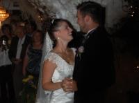 Kathryn and Brian dance at their wedding.