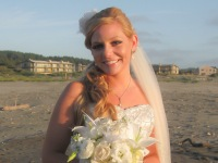I designed and created my sister-in-law's veil for her beach wedding. I'd love to help you get the veil of your dreams!